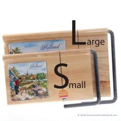 Kaasplank en snijder 30cm - klompenmaker