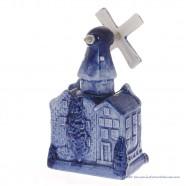 City windmill Small - Delftware Ceramic
