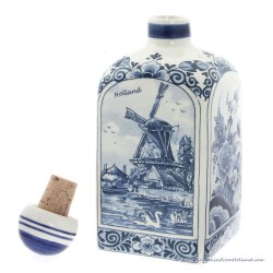 Liquor Jenever Bottle 18cm - Delftware
