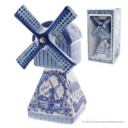 Muziekmolen - Delfts Blauw 22cm