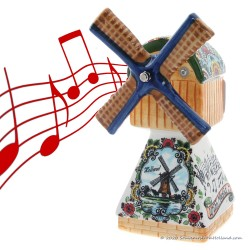 Music Windmill - Polychrome 22cm