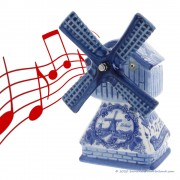 Music Windmill - Delft Blue...