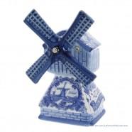 Muziekmolen - Delfts Blauw 18cm