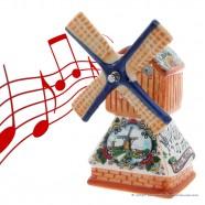 Music Windmill - Polychrome 18cm