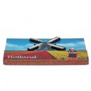 Holland Tulipfields Windmill - Holland 2D Magnet