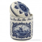 Tea Storage Pot Jar 14cm -...