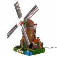 Windmill 32cm - Light and Electrical rotating Wings2