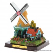 3D miniature Windmill - Yellow