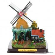 3D miniatuur windmolen - Gele Kap