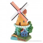 3D miniature Windmill house...