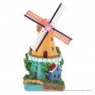 3D miniature Windmill house - fridge magnet