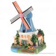 3D miniature Windmill blue...