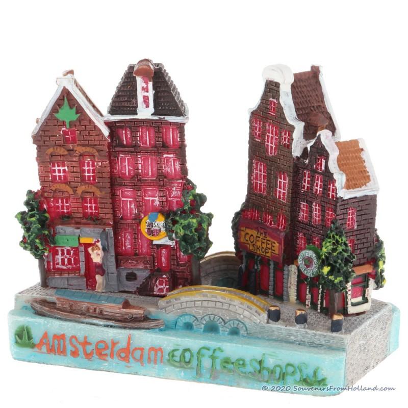 Amsterdam Coffeeshop - 3D miniature