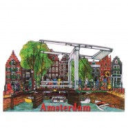Amsterdam Ophaalbrug Grachtengordel - Magneet