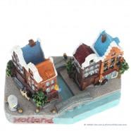 Holland Canal Houses - 3D miniature
