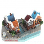 Holland Grachtenhuizen - 3D miniatuur
