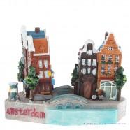 Amsterdam Grachtenhuizen - 3D miniatuur