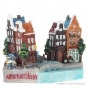 Amsterdam Canal Houses - 3D...
