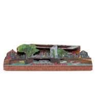 Amsterdam Drawbridge Canal Houses - Magnet