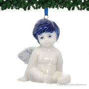 Sitting Christmas Angel -...