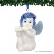 Kerstengel met Dwarsfluit -...