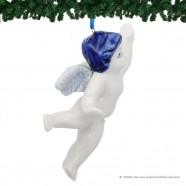 Vliegende Kerstengel - Delfts Blauwe Kersthanger