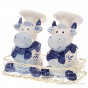 Cooking Cows - Delftware -...