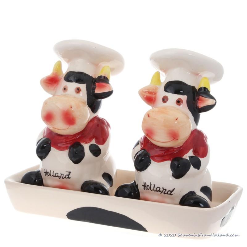 Kokende Koeien - Kleur - Zout en Peper stel