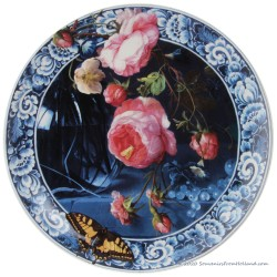 Wall Plate Flowers of the Golden Age - 25cm