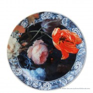 Wall Plate Flowers of the Golden Age - 20cm