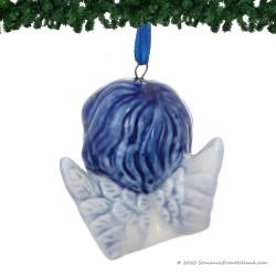 Angel Head A - X-mas Figurine Delft Blue
