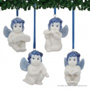 Set of 4 Music Angels -...