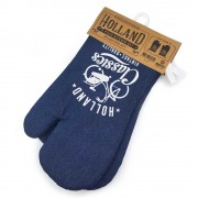 Oven mitts set of 2 - Denim...