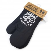 Oven mitts set of 2 - Black...