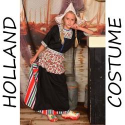 Meisje 7-9 jaar Holland Kostuum