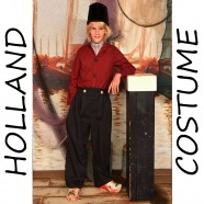 Boy 7-9 years - Holland Costume