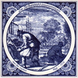 Tiles The Shipwright- Tile 15x15 cm