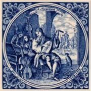 The Musician - Jan Luyken...