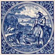 The Farmer - Jan Luyken...