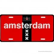Amsterdam XXX rood-zwart...