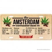 Amsterdam Coffeeshop Menu...