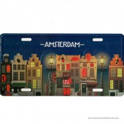 Amsterdam Canal Houses by...