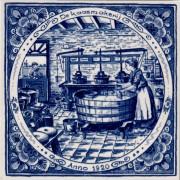 Kaasmakerij - Delfts Blauwe...