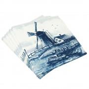 Napkins Landscape Windmill...
