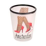 Mokken - Glazen Sexy Legs Amsterdam - Shooters Frosted