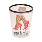 Mugs - Glasses Sexy Legs Amsterdam - Shooters Frosted