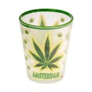 Mokken - Glazen Canabis Amsterdam - Shooters Frosted