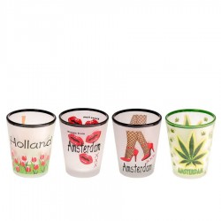 Mugs - Glasses Canabis Amsterdam - Shooters Frosted