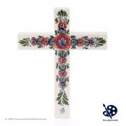 Cross Flowers Polychrome...