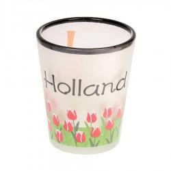 Mokken - Glazen Holland Tulpen - Shooters Frosted